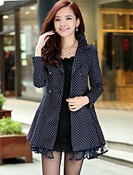 Women's Coats & Jackets , Cotton Casual/Work YIFEEL