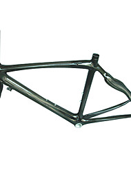 700C Full Carbon Black Road Bicycle Frame with Front Fork