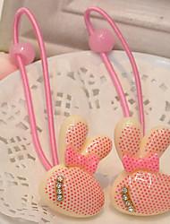 Mädchen-Kaninchen-Haar-Riegel (5 Paare)