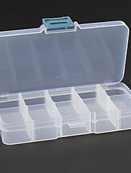 Makeup Storage Cosmetic Box / Makeup Storage Solid 7.0 x 13.0 x 3.0