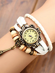 Meizhilan Fashion Eiffel Tower Decorative Bracelet Watch