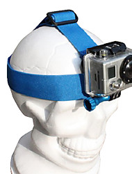 GoPro Hero2 and Hero3 Head Belt (Blue)