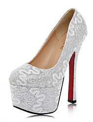 Women's Wedding Shoes Platform Heels Wedding Gold