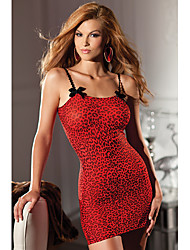 Charming Girl Red Leopard Women's Lingerie Sexy Uniform