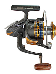 Fishing Reel Spinning Reels 5.5:1 10 Ball Bearings Exchangable / Right-handed / Left-handed Sea Fishing / Spinning / Freshwater Fishing -