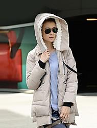 Manteau de modèle coréen des brevets épaississent des femmes