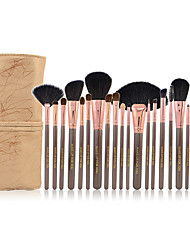 Make-up For You® 20pcs Makeup Brushes set Bristle/Squirrel/Goat/Mink/Pony/Horse Hair Professional Powder/Foundation/Blush brush Shadow/Lip/Brow Brush