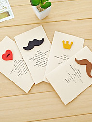 Crown Barba Amore Greeting Card (colore casuale)