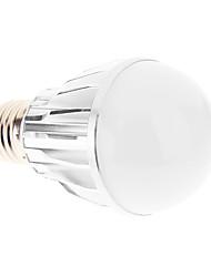 E27 5W 5xHigh Мощность 450LM 6000K Холодный белый свет Светодиодные лампы глобус - Серебряная гарантия (85-265В)