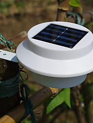 3 LED Solar Powered Fence Gutter Light Outdoor Garden Yard Wall Pathway Lamp(CIS-57211)