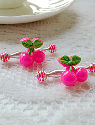 Children's Cherry Hair Clip(4/set)
