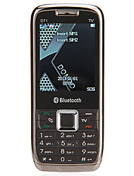 "D71 2.2 ""2g cellphone (dual sim, tv, fm, bluetooth, zaklamp)"