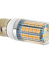 Lampadine a pannocchia 47 SMD 5050 E26/E27 9 W 690 LM 2500-3500 K Bianco caldo AC 12 V