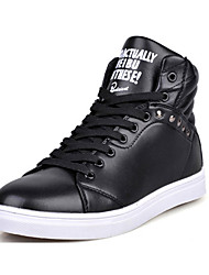 Trend Point Men's Fashion Rivet Black Shoes