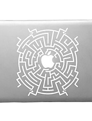 Labyrinth Pattern Transparent PC Hard Case for MacBook Air (Assorted Colors)