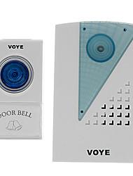 VOYE V001A 38 Tunes controle remoto sem fio campainha campainha da porta
