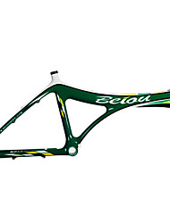 "BEIOU BMX T700 Fibra de Carbono 20 ""Green Bicycle Motocross Quadro"