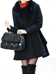 Women's Dress Shirts , Wool Casual Nryc
