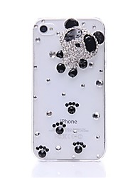 WWX Women's Panda Cell phone Case For Iphone4/4S WWX0019