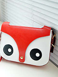 Fashion Fox Head Crossbody Bag