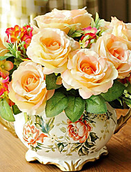 "Le 11 ""H Style Rétro Rose arrangement"