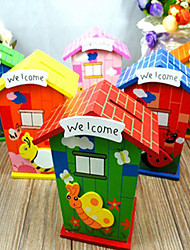 Creative Small Cartoon House Saving Pot