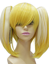High Quality Synthetic Japanese Kanekalon Light Blonde Long Straight Lolita Wig