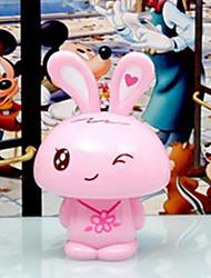 Creative Cartoon Pink Lively Rabit Saving Pot