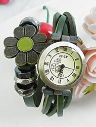 Meizhilan Vintage Flower Decorative Watch