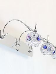 Cuarto de baño lámpara de pared, 3 Light, Modern metal galvanoplastia