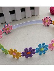 Girl's Colorful Flower Headband