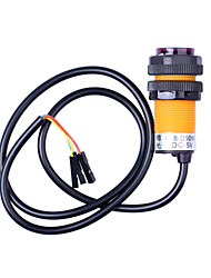 IR Infrared Sensor Switch with Fixed Rings - Orange + Black