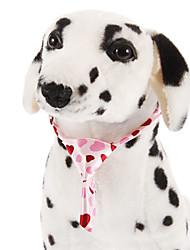 All Seasons Wedding Terylene Tie for Dogs Pink