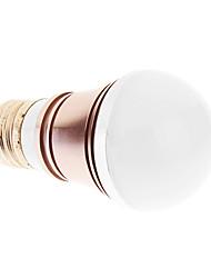 E27 3W 3xHigh Мощность 270LM 6000K Холодный белый свет Светодиодные лампы глобус - Серебряная гарантия (85-265В)