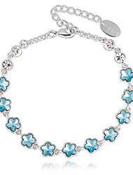 Ouxi Элегантный Звезды Pattern браслет (синий)