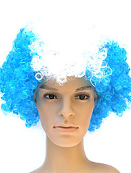 Capless 100% Kanekalon Soccer Fans Party Wig