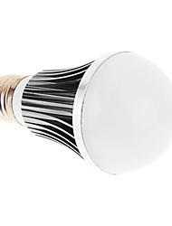 E27 5W 5xHigh Мощность 450LM 6200K Холодный белый свет Светодиодные лампы глобус - Серебряная гарантия (85-265В)