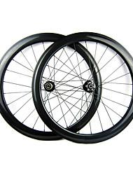 25mm Largeur 50mm 700C pleine de carbone tubulaires Cyclocross frein à disque de vélo / Essieux vélo