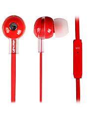 DANYIN WP-154 HIFI stéréo In-Ear avec micro et télécommande pour PC / iPhone / iPad / Samsung / iPod