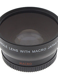 52mm 0.45x Wide Angle&Macro HD Conversion Lens For Canon EOS Rebel