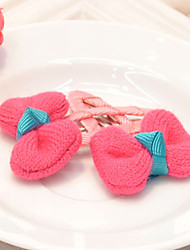 Girl's Bow Hair Clips(5 Pairs)