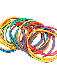 Dragonhawk® 100PCS/pack Colorful Elastic Rubber Bands