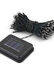 22M Solar Power 200 LED multicolore fée lumière chaîne lampe Xmas Party de mariage Décor de jardin (CEI-57205)