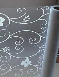 Elegant Country Floral Window Film