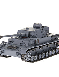 Heng largas de 1/16 German IV, Tanques F2 Medium RC con simulado Humo