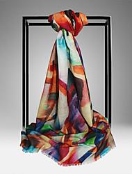 Meizhi Женская Непал Импорт Чистая шерсть 200 * 70см Красочные шарф