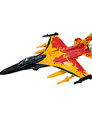 Lan Xiang F16 70mm EDF 8CH Kämpfer RC Flugzeug PNP (Orange)
