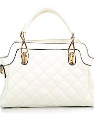 baimulin blanc sac à bandoulière en cuir souple de femmes de 30 * 31cm
