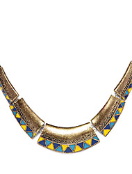 Necklace Choker Necklaces / Vintage Necklaces Jewelry Party / Daily Fashion Alloy Bronze 1pc Gift