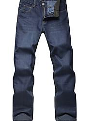 U & F Männer blauer Jeans Einbau